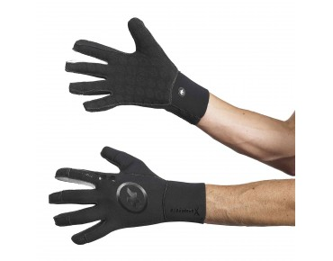 ASSOS rain_evo7 neoprene gloves black