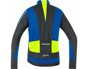 GORE BIKE WEAR OXYGEN WINDSTOPPER soft shell jacket brilliant blue/black