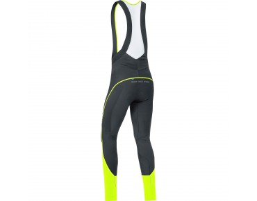 GORE BIKE WEAR WINDSTOPPER soft shell bib tights black/neon yellow