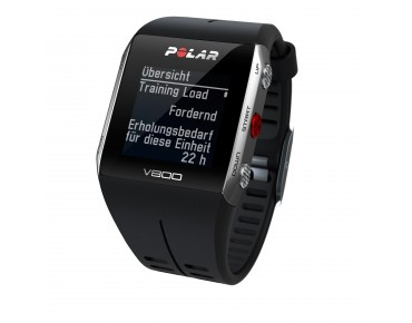 Polar V800 HR sports watch black/silver