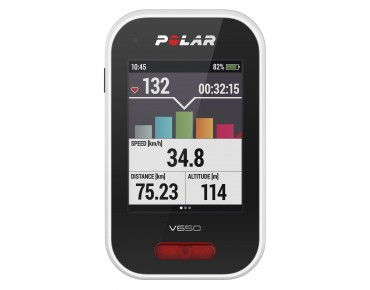 Polar V650 bike computer black/white