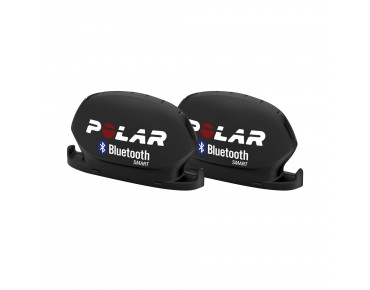 Polar Bluetooth Smart speed and cadence transmitter kit schwarz