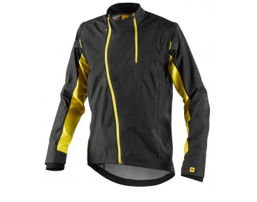 MAVIC STRATOS CONVERTIBLE zip-off jacket black/yellow