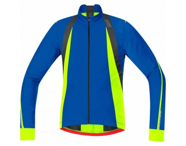 GORE BIKE WEAR OXYGEN Thermo Langarmtrikot brillant blue/neon yellow