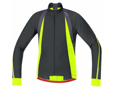 GORE BIKE WEAR OXYGEN Thermo Langarmtrikot black/neon yellow