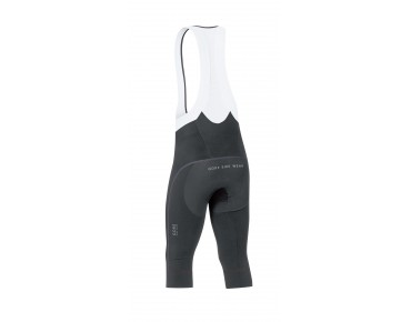 GORE BIKE WEAR OXYGEN PARTIAL 3/4-length bib tights black