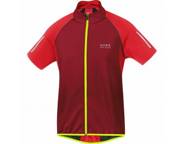 GORE BIKE WEAR PHANTOM 2.0 WS SO Zip-off-Jacke ruby red/red