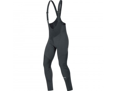 GORE BIKE WEAR ELEMENT WINDSTOPPER SOFTSHELL bib tights+ black