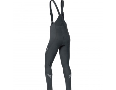 GORE BIKE WEAR ELEMENT WINDSTOPPER SOFTSHELL bib tights black