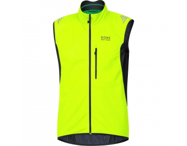 GORE BIKE WEAR ELEMENT WS SO vest day-glo yellow/black