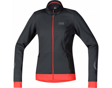 GORE BIKE WEAR ELEMENT WS SO Damen-Jacke black/ lumi orange