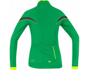 GORE BIKE WEAR POWER 2.0 Damen Thermo-Langarmtrikot fresh green/neon yellow