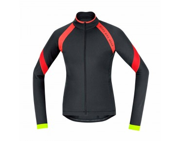GORE BIKE WEAR POWER 2.0 Damen Thermo-Langarmtrikot black/red