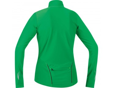GORE BIKE WEAR ELEMENT thermal long-sleeved jersey for women fresh green/neon yellow