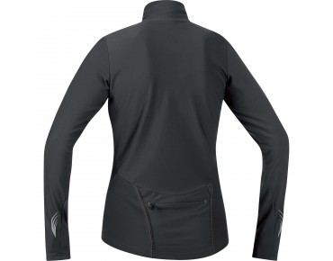 GORE BIKE WEAR ELEMENT thermal long-sleeved jersey for women black/ lumi orange