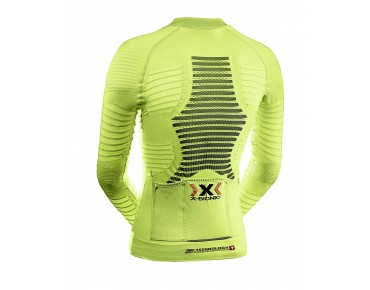 X BIONIC EFFEKTOR POWER long-sleeved jersey green lime/black
