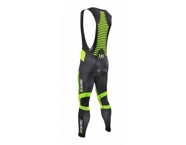 X BIONIC EFFEKTOR POWER bib tights, long black/yellow