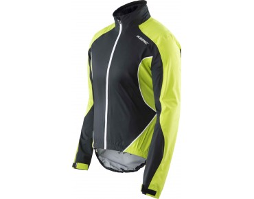 SYMFRAME waterproof jacket black/green lime