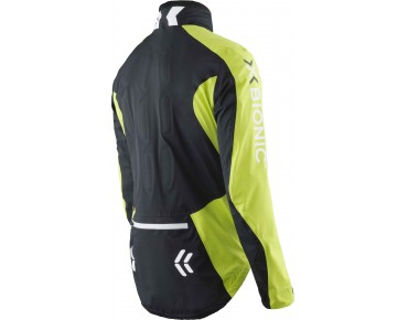 X BIONIC SYMFRAME waterproof jacket black/green lime