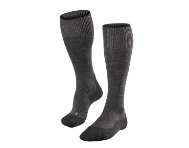 FALKE TK1 WOOL Long charcoal