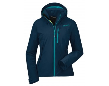 Schöffel AFRA women's technical jacket dress blue