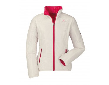Schöffel OLYMPIA women's reversible jacket white/gray