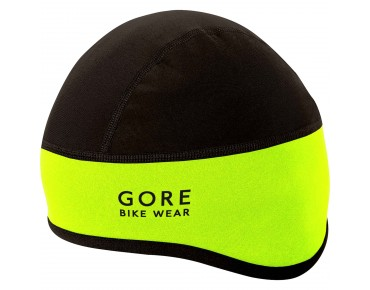 GORE BIKE WEAR UNIVERSAL WINDSTOPPER SOFT SHELL helmet cap II neon yellow/black