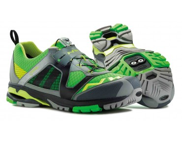 NORTHWAVE EXPLORER GORE-TEX® MTB/trekking shoes anthracite/green