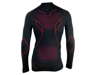 NORTHWAVE EVOLUTION TECH seamless long-sleeved shirt black/red