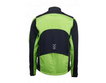 ROSE Rad Jacke WIND FIBRE (Thermo-Windschutz) green/black