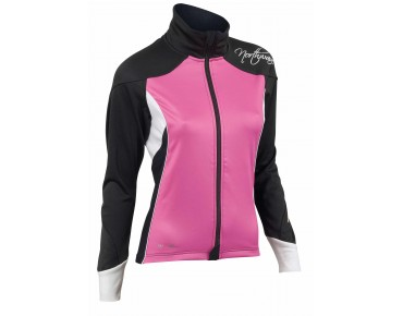 NORTHWAVE VENUS Damen Windschutz-Thermojacke fuchsia/black