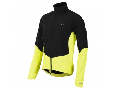 PEARL iZUMi SELECT BARRIER Windschutz Thermo Jacke black/yellow screaming