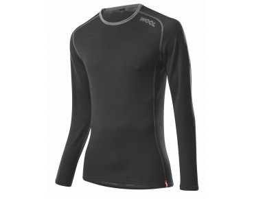 Löffler TRANSTEX MERINO long-sleeved base layer black