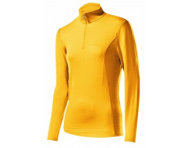 Löffler BASIC transtex women's long-sleeved shirt mango