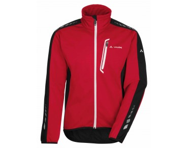 VAUDE POSTA IV softshell jacket red