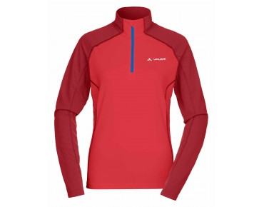 VAUDE LA LUETTE women's long-sleeved jersey flame