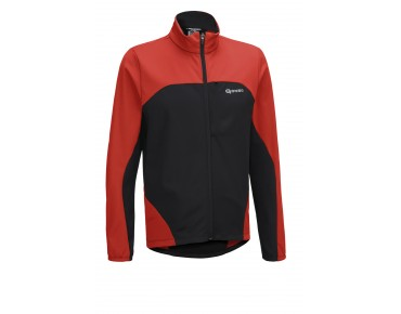 GONSO BOG softshell jacket fiery red