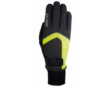 ROECKL RIGOLI GORE-TEX winter gloves black/yellow