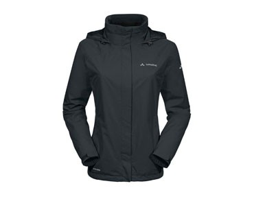 VAUDE ESCAPE BIKE LIGHT JACKET women's all-weather jacket black
