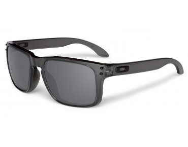 OAKLEY HOLBROOK - occhiali grey smoke/black iridium