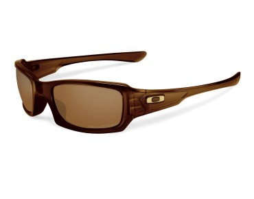 OAKLEY FIVES SQUARED - occhiali polished rootbeer/dark bronze
