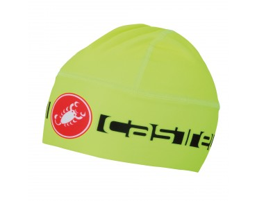 Castelli VIVA THERMO hat yellow fluo