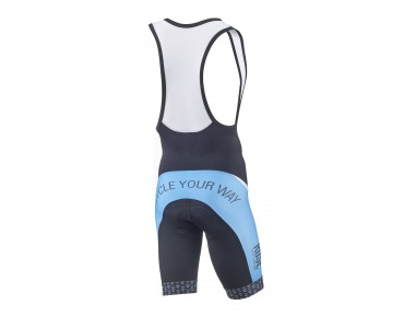 ROSE DESIGN TOP bib shorts black/sky