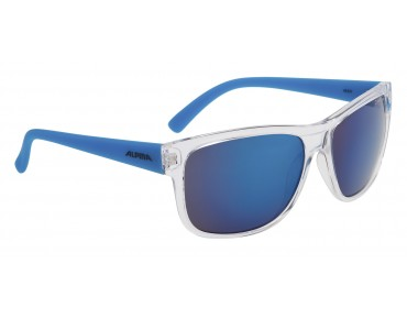 ALPINA HEINY glasses transparent-blue/blue mirror