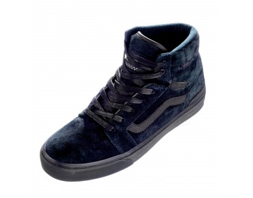 VANS SANCTION Sneaker High Cut black/black