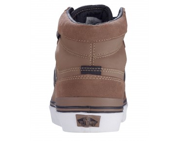 VANS SANCTION Sneaker High Cut (Suede) walnut/black