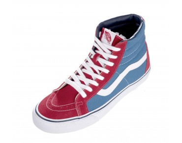 VANS SK8-HI Sneaker High Cut (Golden Coast) true red/deep water