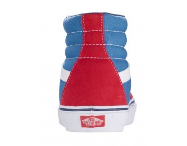 VANS SK8-HI high cut sneakers (Golden Coast) true red/deep water