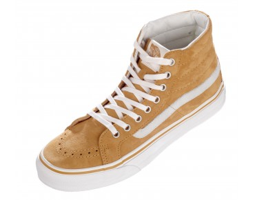 VANS SK8-HI Slim Sneaker High Cut (Scotchgard TM) amber gold/marshmallow