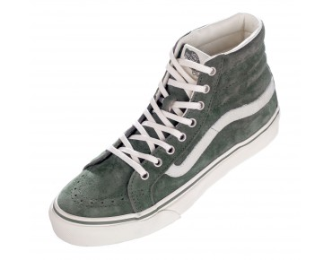 VANS SK8-HI Slim Sneaker High Cut (Scotchgard TM) beetle/marshmallow
